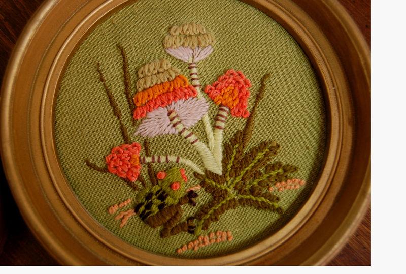 Embroidered frames 3