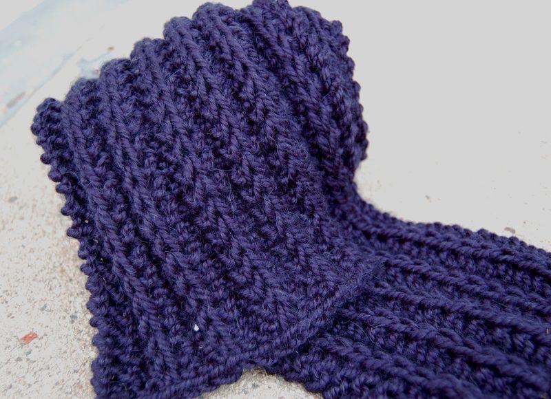 Navy scarf 1